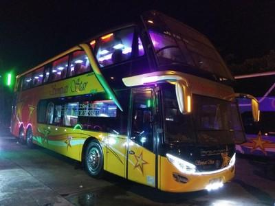 Foto: Bus Double Decker di Aceh yang Jadi Idola Pemudik