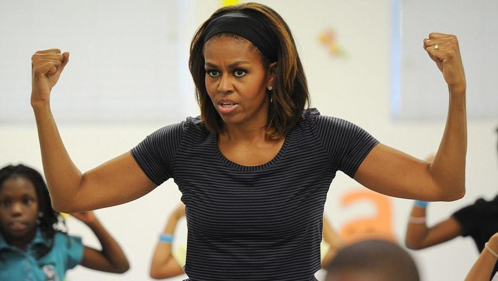 Rahasia Tubuh Ramping Ala Michelle Obama: Makan Lima Kali Sehari