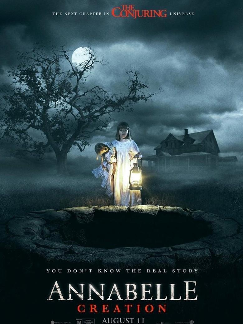Merinding! Ini Poster Horor Annabelle: Creation
