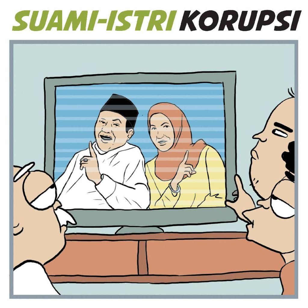 Suami - Istri Terlibat Korupsi
