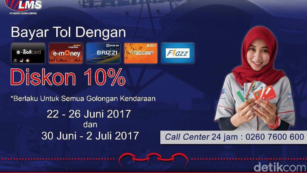 Jakarta-Semarang Lewat Jalan Tol Cukup Pakai Satu Uang Elektronik
