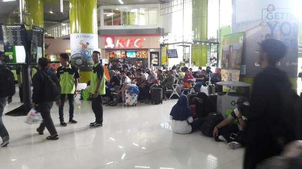 H-2 Lebaran, 133 Ribu Pemudik Berangkat dari Stasiun Gambir