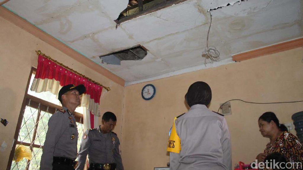 56 Rumah Warga Rusak Ringan Akibat Pemusnahan Petasan di Kebumen