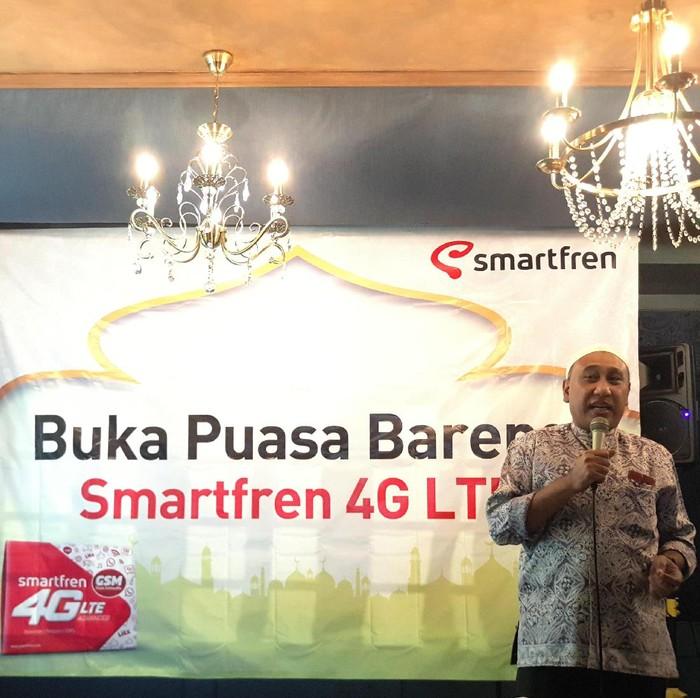 Munir Syahda Prabowo, VP Network Smartfren. Foto: yud/detikINET