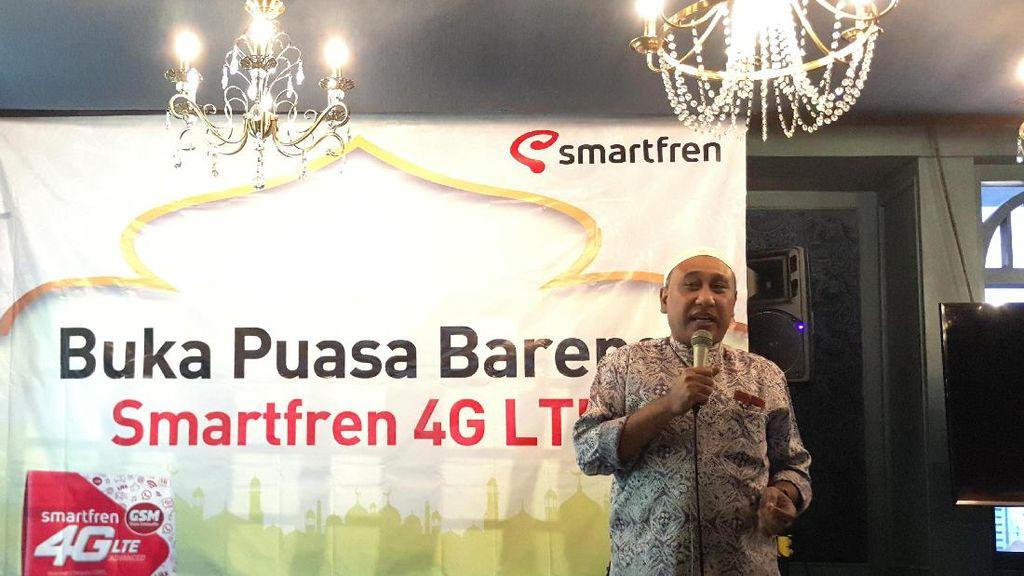 Smartfren: Trafik Lebaran Melonjak Mulai H-3