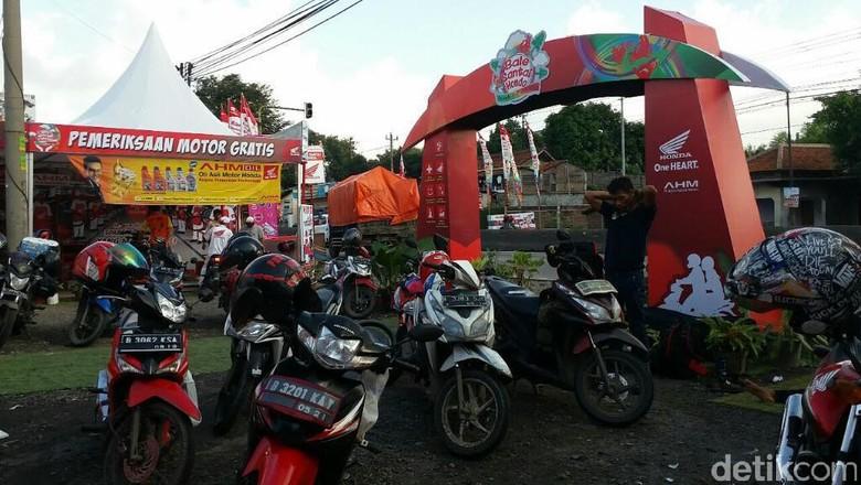 Honda Dirikan Rest Area Nyaman untuk Pemudik di Jateng