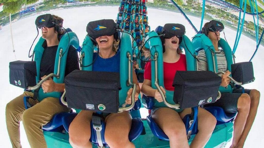 Roller Coaster Berpadu dengan Virtual Reality, Makin Deg-degan!