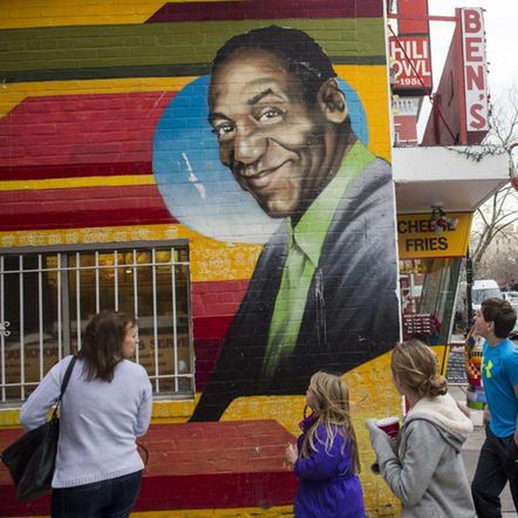 Mural Bill Cosby Diganti dengan Wajah Barack Obama
