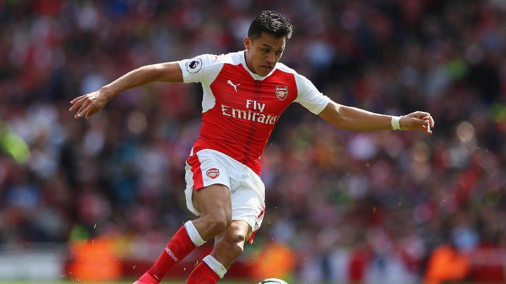 Sanchez Sudah Bisa Main Lawan Liverpool