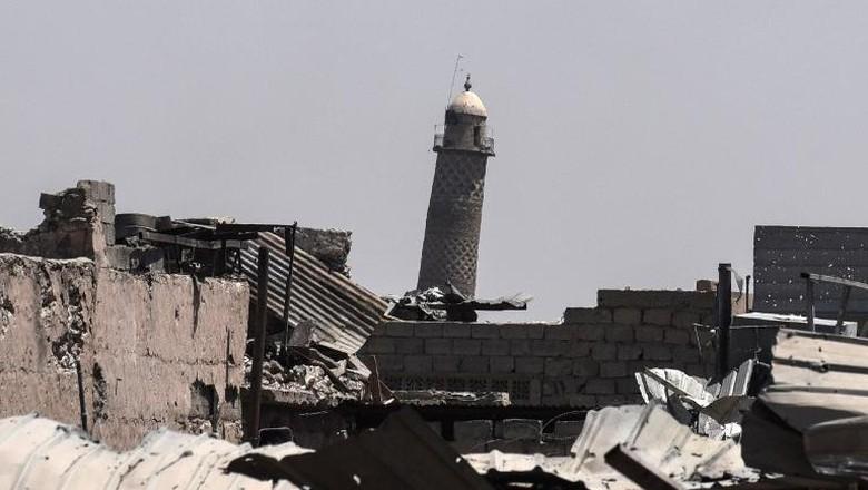 ISIS Ledakkan Masjid Mosul, PM Irak: Itu Deklarasi Kekalahan ISIS