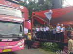 Jasa Raharja Jateng Berangkatkan 750 Pemudik Gratis