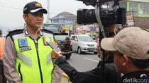 Volume Kendaraan Lewat Garut Meningkat, Polisi Kembali Berlakukan One Way