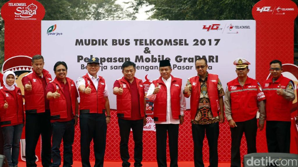 Mudik Bareng Telkomsel Pulangkan Ribuan Pelanggan