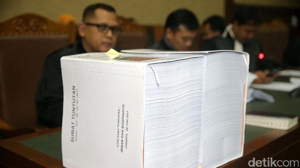 Jaksa Ungkap Daftar Anggota DPR yang Terima Uang Haram e-KTP
