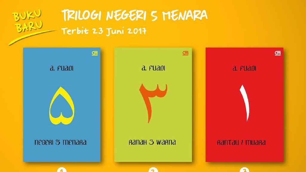 Novel Trilogi Negeri 5 Menara Rilis Sampul Baru