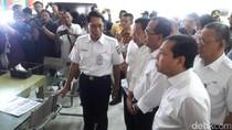 Menhub dan Ketua DPR Sidak Arus Mudik di Stasiun Senen