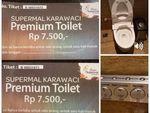 Sekali Masuk Rp 7.500, Ini Fasilitas Toilet Mewah di Karawaci