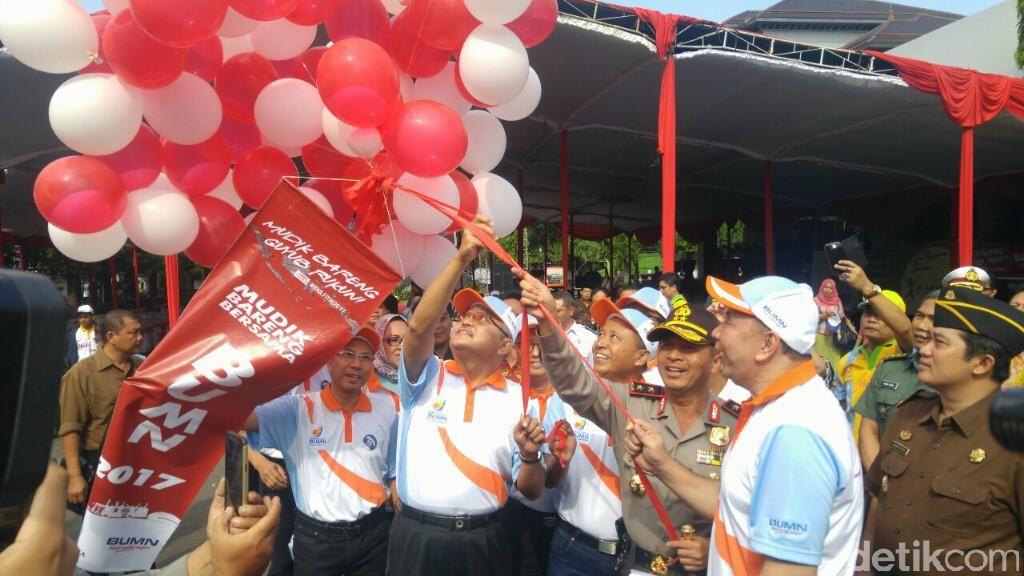 Jasa Raharja Lepas 750 Pemudik Bus di Jateng