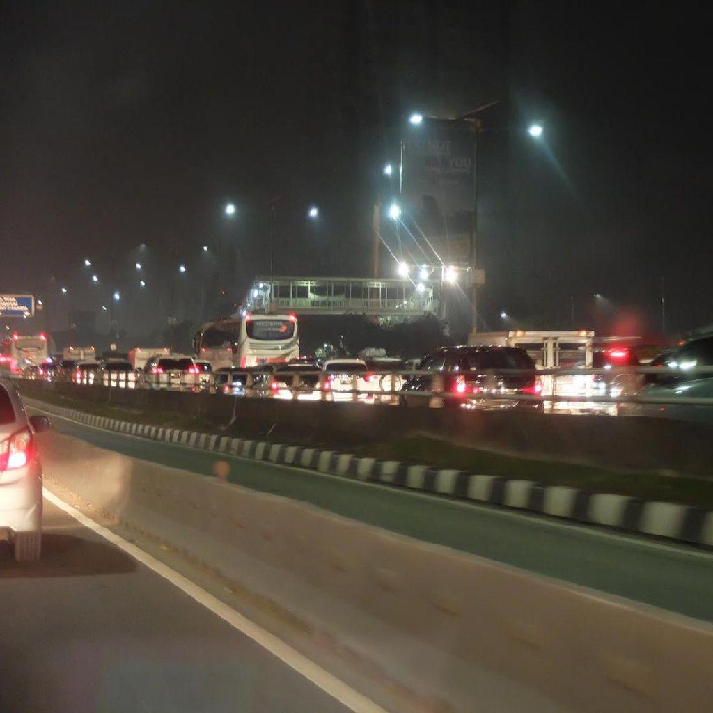 Arus Mudik, Kepadatan Tol Dalam Kota Mulai Mencair