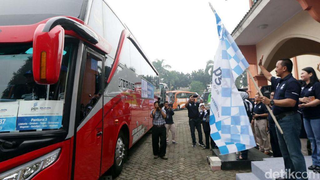PGN Berangkatkan 2.245 Pemudik