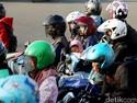 Polisi Imbau Pemudik Motor Tak Bawa Barang dan Penumpang Berlebih