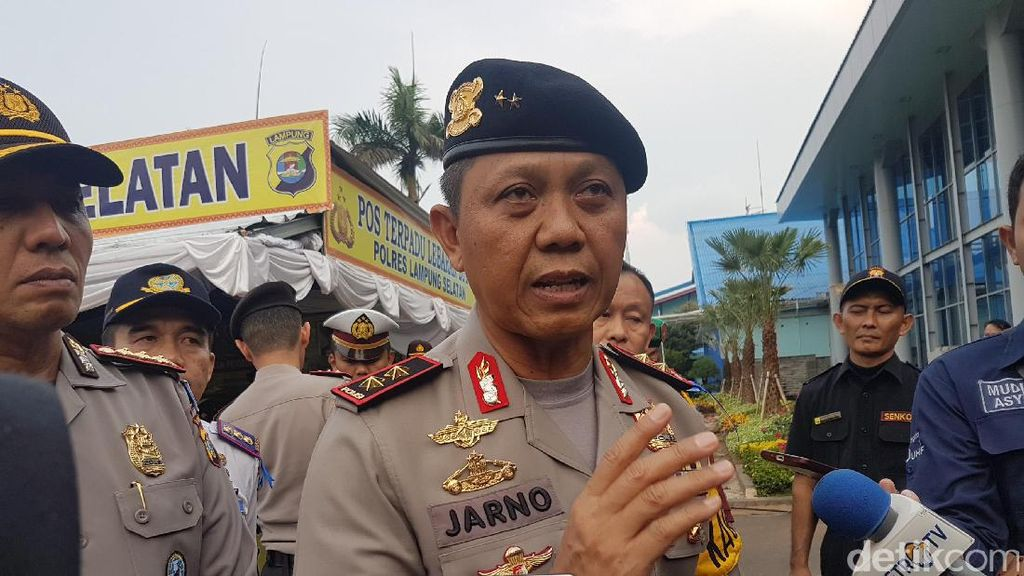 Kapolda Lampung Pastikan Jalur Lintas Sumatera Aman Buat Pemudik