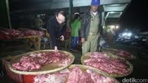 75 Kg Daging Gelonggongan Ditemukan di Pasar Legi Solo