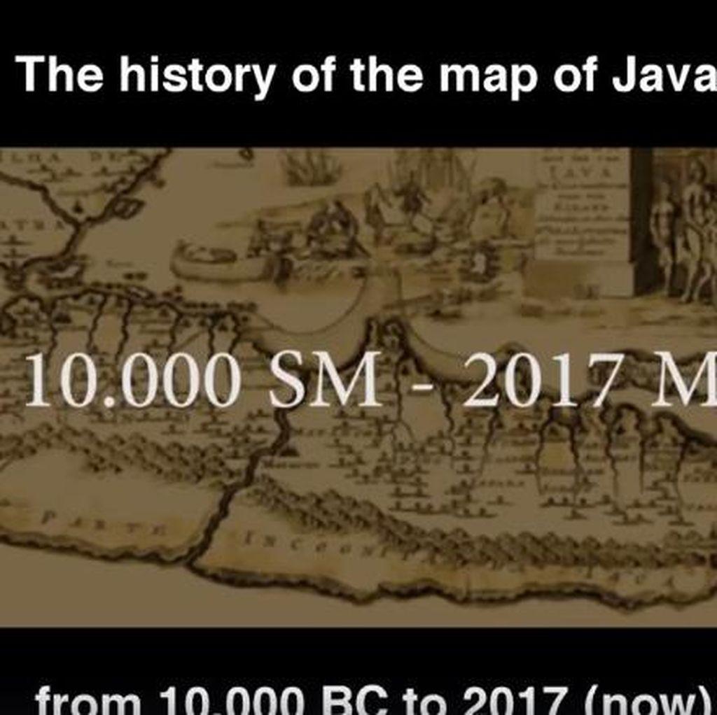 Keren! Video Sejarah Jawa dari 10 Ribu SM Sampai 2017