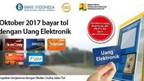 Bayar Tol dengan Uang Elektronik