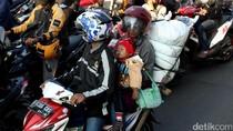 Awas Berbahaya Mudik Bawa Anak Pakai Motor