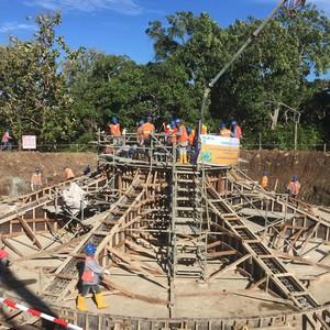 Mengintip Pembangunan Proyek Kebun Angin Terbesar di Indonesia