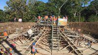 Mengintip Pembangunan Proyek 'Kebun Angin' Terbesar di Indonesia