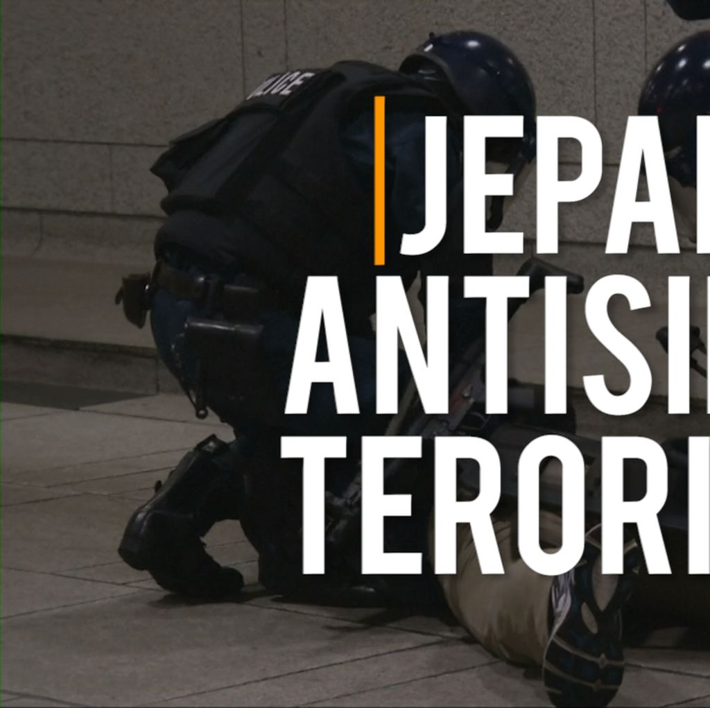 Video: Polisi Jepang Gelar Simulasi Latihan Hadapi Aksi Terorisme