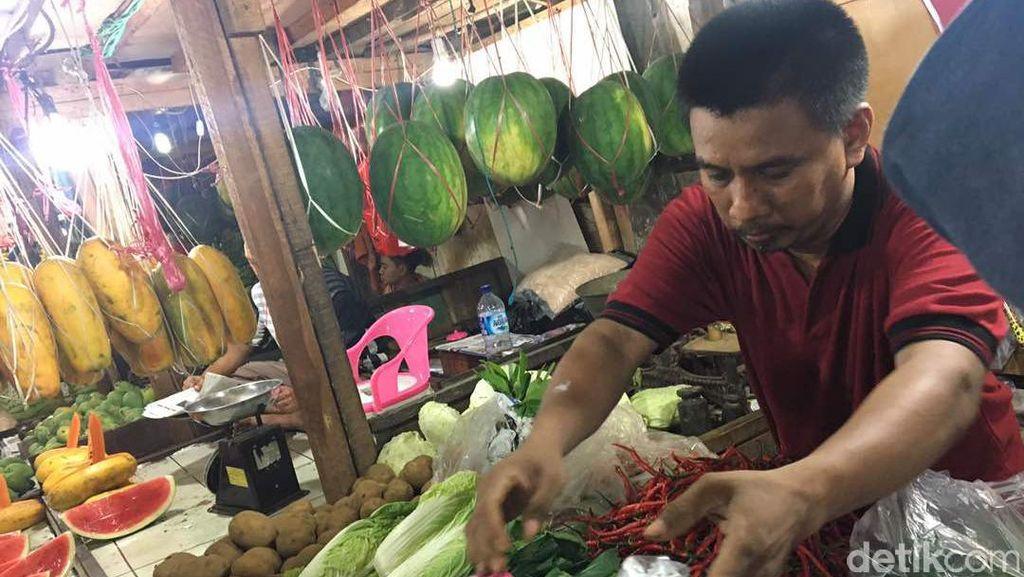 H-2 Harga Sayuran Stabil, Kecuali Kacang Panjang dan Buncis