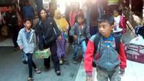Bus dari Jakarta ke Yogyakarta Terlambat 4 Jam