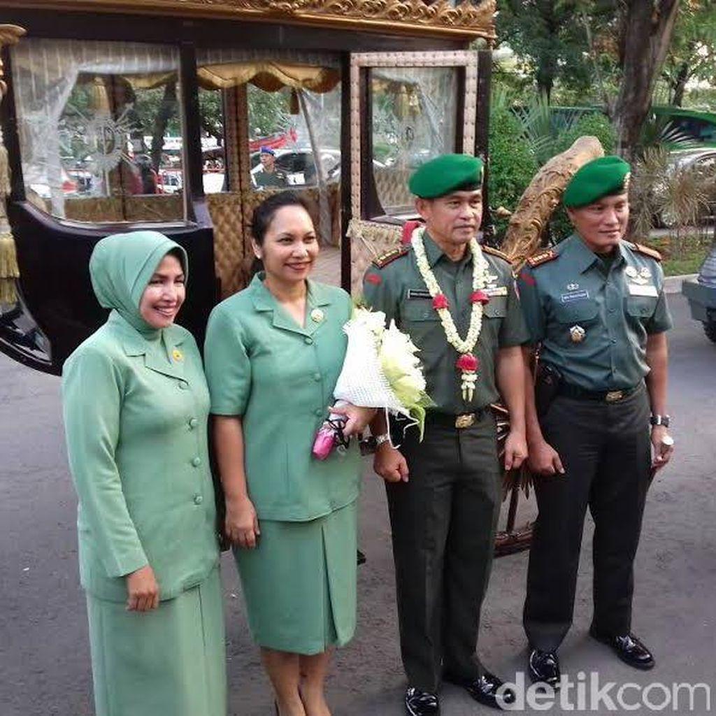 Mantan Ajudan Presiden Jokowi Resmi Jabat Danrem Warastratama