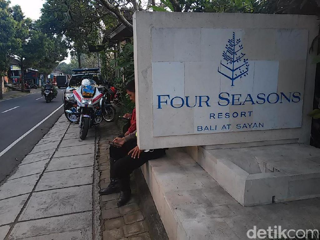 Jelang Kedatangan Obama, Pengamanan di Four Seasons Ubud Diperketat