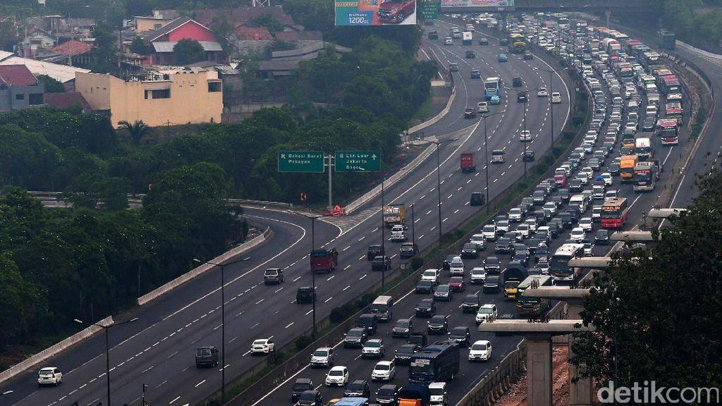 Begini Skema Urai Kemacetan Arus Balik Tol Cikampek Arah Jakarta