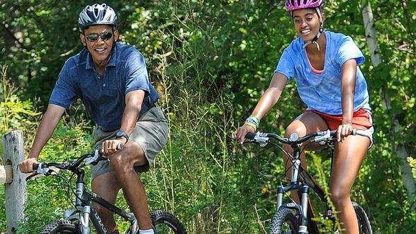 Pagi-pagi Sudah <I>Nge-gym</I>, Gaya Hidup Obama Layak Jadi <I>Fitness Goal</I>