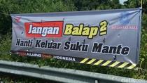 Ingatkan Pemudik, Polisi di Aceh Pasang Spanduk Lucu Seperti Ini