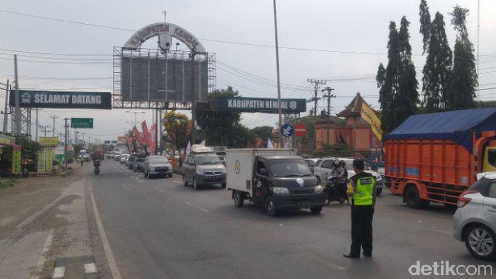 Pemudik via Semarang Hari ini Meningkat 50 Persen, Arus Ramai Lancar