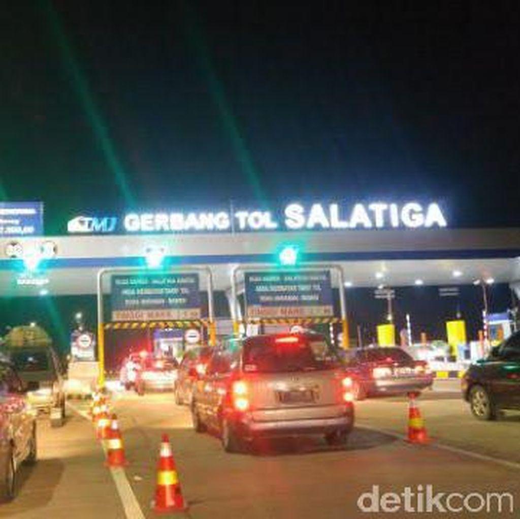 H-2 Lebaran, Tol Semarang-Salatiga Lancar