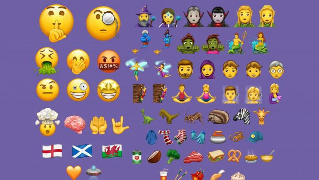 Unicode 10 Bawa 56 Emoji Baru