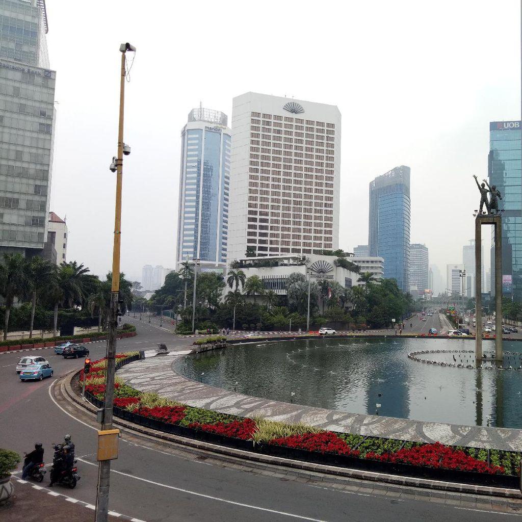 Jakarta Ditinggal Mudik, Ini Penampakan Lengangnya Sudirman-HI