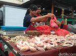 H-2 Lebaran, Harga Ayam Potong dan Bawang Merah di Bandung Melambung