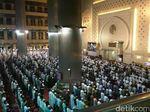 Begini Suasana Tarawih Penghujung Ramadan di Masjid Istiqlal