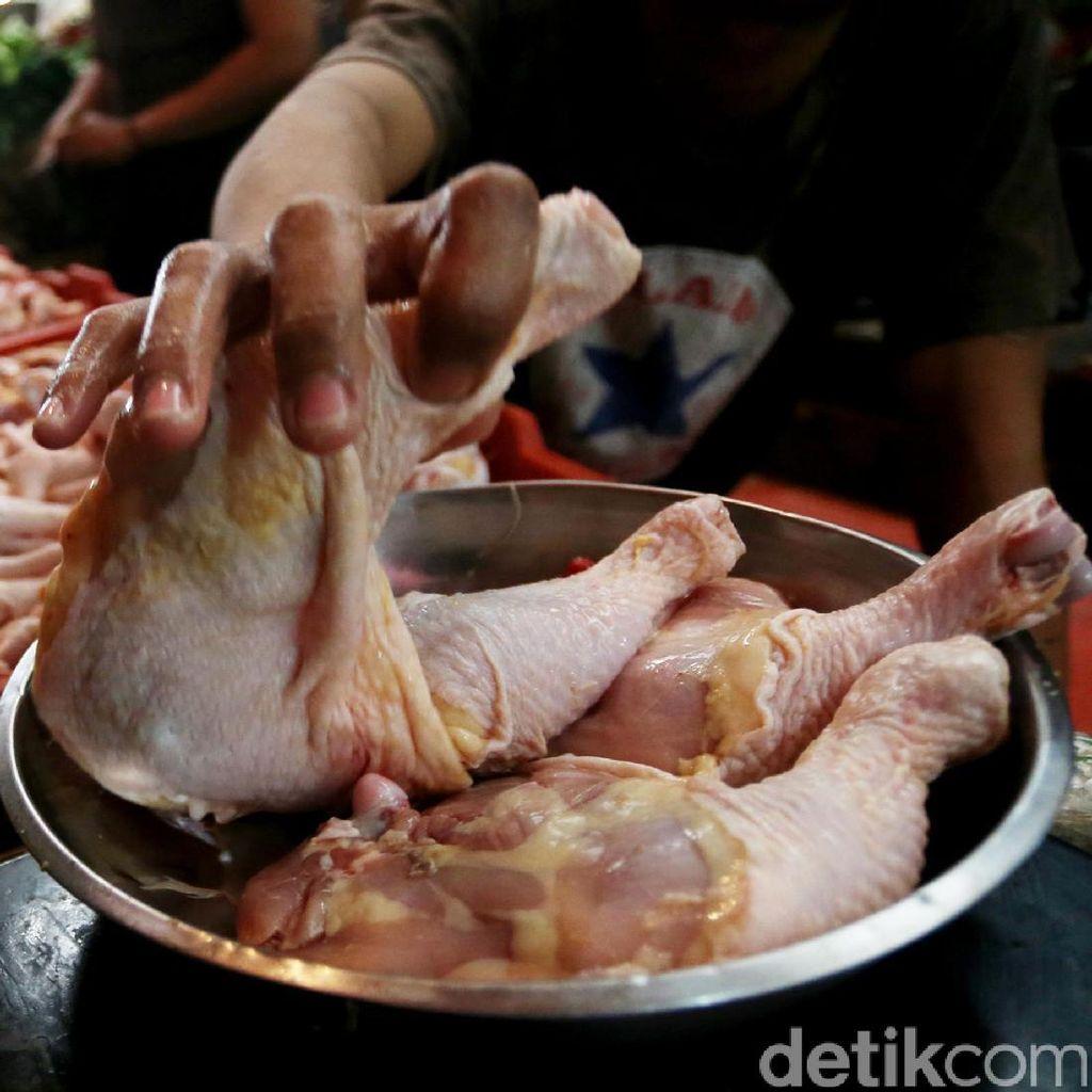 Jelang Lebaran, Kebutuhan Ayam Potong dan Santan Meningkat