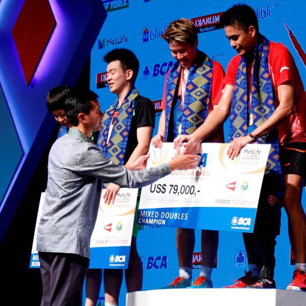 Gelar Juara Tontowi dan Liliyana untuk Indonesia