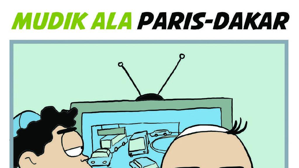 Mudik Ala Reli Paris Dakar