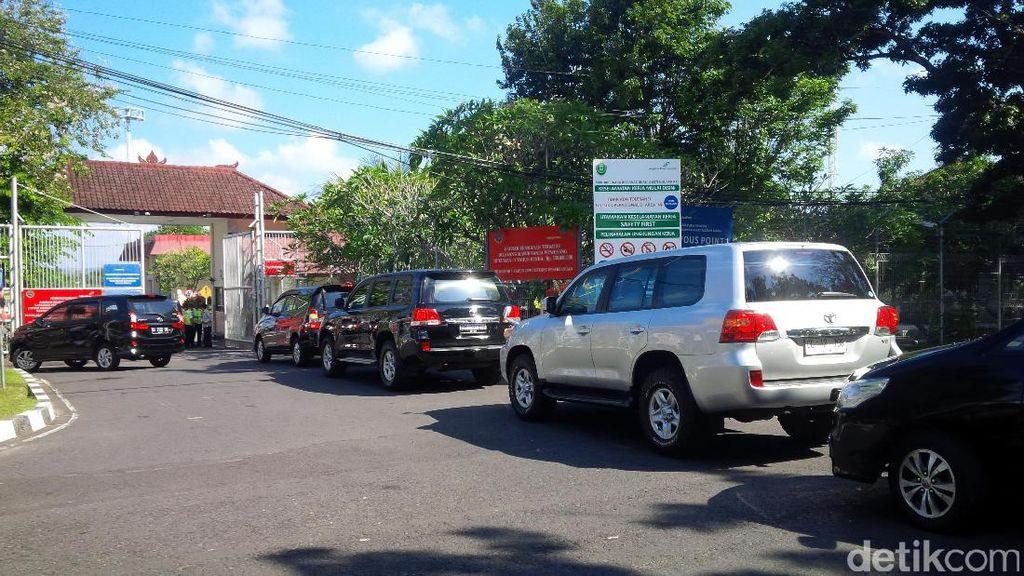 Suasana Lanud Ngurah Rai Menjelang Kedatangan Obama di Bali